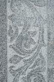 Parede de mármore cinzelada imagem de stock
