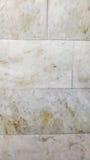 Parede de mármore Parede branca Fotografia de Stock