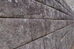 Parede de Machu Picchu fotografia de stock