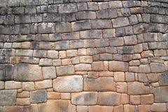 Parede de Machu Picchu foto de stock royalty free