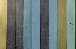 Parede de madeira Fotos de Stock Royalty Free