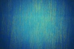 Parede de madeira azul fotografia de stock