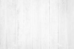 Parede de madeira branca Fotos de Stock Royalty Free