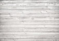 Parede de madeira branca, tabela, superfície do assoalho Textura de madeira clara fotografia de stock royalty free
