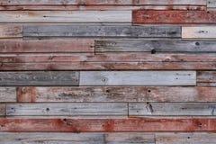 Parede de madeira colorida velha Foto de Stock Royalty Free