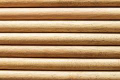 Parede de madeira do close up Fotos de Stock