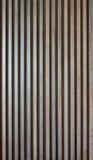 Parede de madeira do lath foto de stock