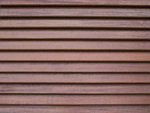 Parede de madeira do lath fotografia de stock