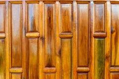 Parede de madeira do teste padrão Imagem de Stock Royalty Free