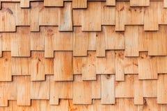 Parede de madeira do teste padrão do estilo dos enigmas de serra de vaivém Imagens de Stock