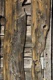 Parede de madeira envelhecida Fotografia de Stock Royalty Free