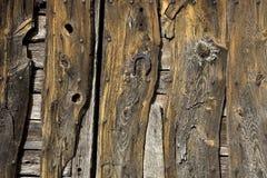 Parede de madeira envelhecida Imagem de Stock