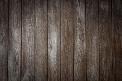 A parede de madeira escura Foto de Stock Royalty Free