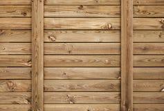 Parede de madeira marrom velha, textura do fundo imagens de stock royalty free