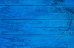 Parede de madeira pintada Imagens de Stock