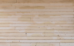 Parede de madeira pintada velha fotografia de stock