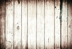 Parede de madeira pintada velha - textura ou fundo Fotos de Stock Royalty Free