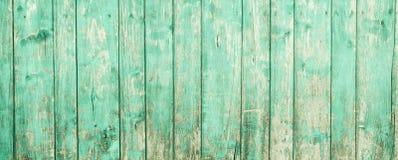 Parede de madeira pintada velha - textura ou fundo Fotografia de Stock