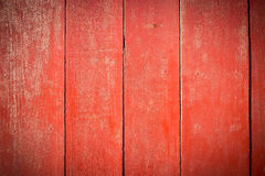 Parede de madeira pintada velha - textura ou fundo Fotografia de Stock Royalty Free
