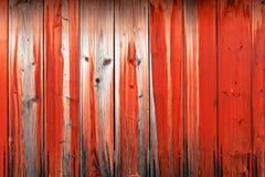 Parede de madeira de placas vermelhas com a imagem do focinho do animal foto de stock