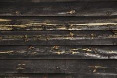 Parede de madeira preta imagem de stock