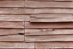Parede de madeira rachada Fotos de Stock
