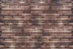 Parede de madeira recuperada das pranchas fotografia de stock royalty free