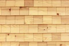Parede de madeira sem emenda da telha Foto de Stock Royalty Free