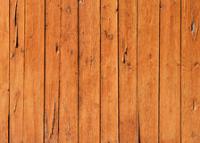 Parede de madeira velha com camada rachada da pintura Imagem de Stock Royalty Free
