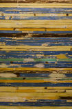 Parede de madeira velha de Colorfull Fotografia de Stock Royalty Free