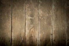 Parede de madeira velha Fundo preto e branco Imagens de Stock
