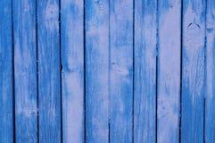 Parede de madeira velha pintada Fotografia de Stock