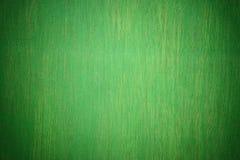 Parede de madeira verde fotos de stock royalty free