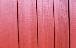 Parede de madeira vermelha Imagem de Stock