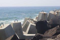 Parede de mar Foto de Stock Royalty Free