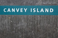 Parede de mar, Canvey Island, Essex, Inglaterra Imagens de Stock