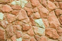 Parede de pedra. Imagem de Stock