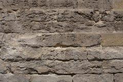 Parede de pedra antiga Fotos de Stock