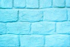 Parede de pedra azul envelhecida para o fundo fotos de stock