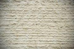Parede de pedra branca, linhas horizontais fundo Com lados mais escuros Fotografia de Stock