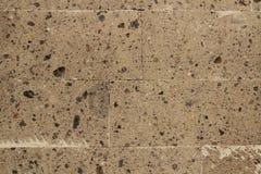 Parede de pedra branca velha Imagem de Stock Royalty Free