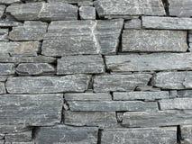 Parede de pedra cinzenta imagem de stock