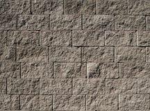 Parede de pedra cinzenta Imagens de Stock