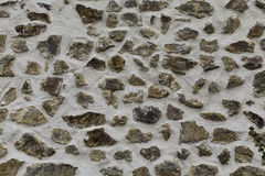 Parede de pedra cinzenta Foto de Stock Royalty Free