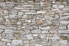 Parede de pedra cinzenta Imagens de Stock Royalty Free