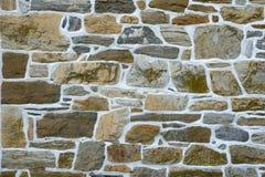 Parede de pedra cinzenta Fotografia de Stock