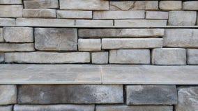 Parede de pedra cinzenta Fotos de Stock