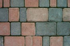 Parede de pedra colorida para o fundo fotografia de stock