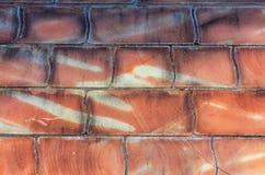 Parede de pedra com blocos grandes para o fundo Fotografia de Stock Royalty Free