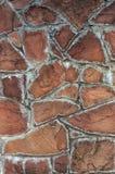 Parede de pedra com blocos grandes para o uso do fundo Fotos de Stock